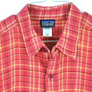 Patagonia Organic Cotton men's XL Button Shirt SS